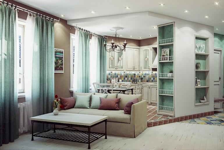Предметы мебели должны быть выдержаны в едином стиле
