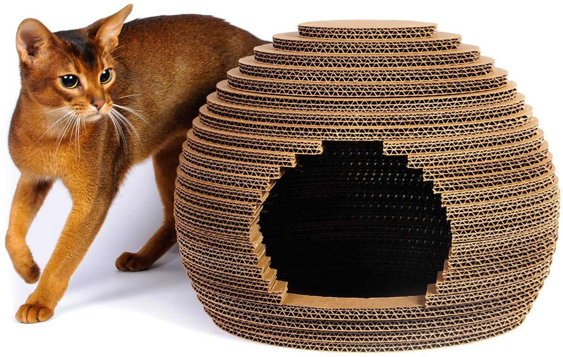 Как сшить домик для кошки своими руками фото фото 177