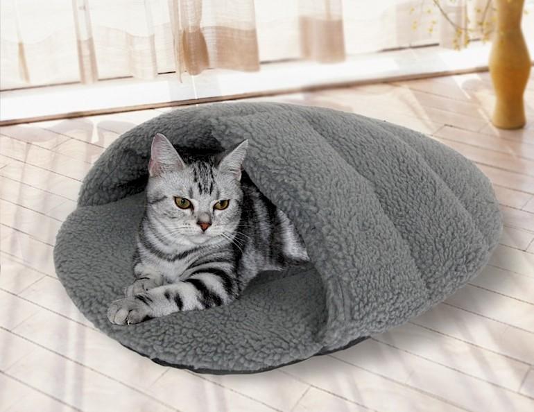 Домик-рукав для кошки