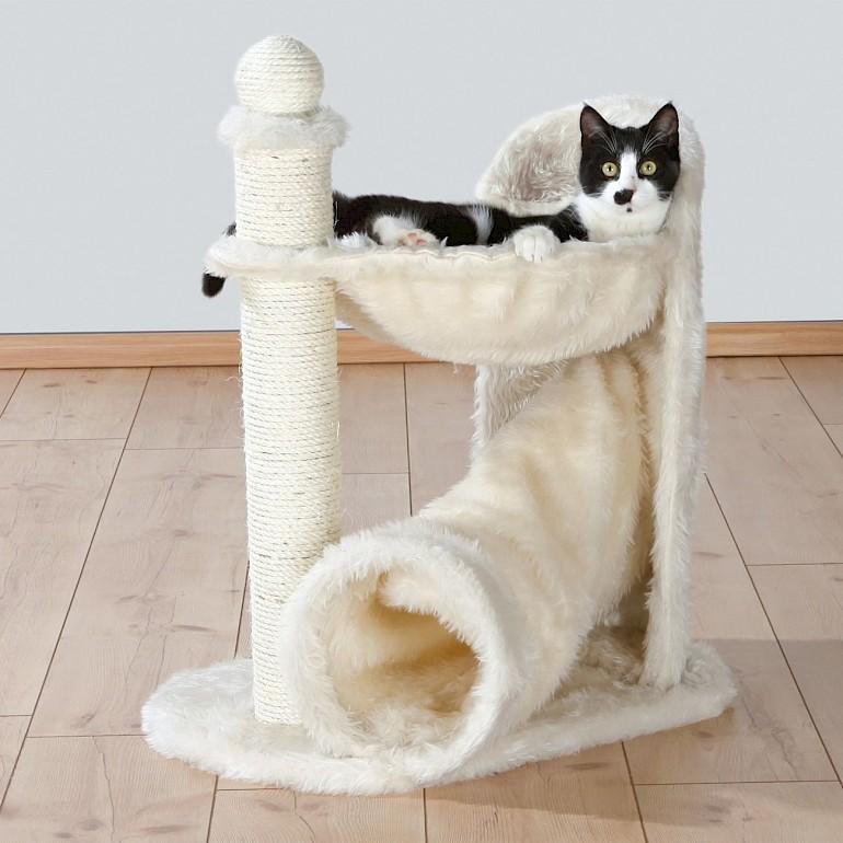 Двухуровневые домики предпочтительнее для кошек