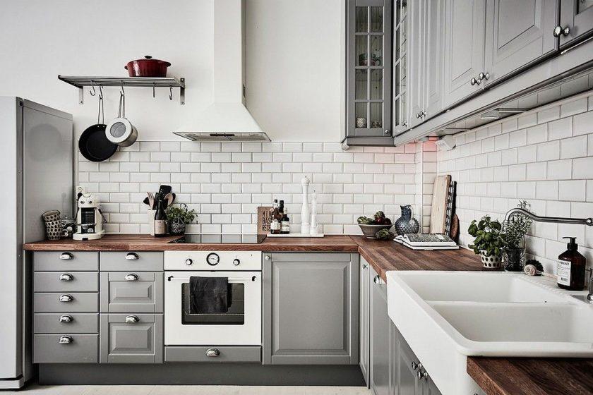 белая кухня в стиле лофт и другие цвета черный синий зеленый