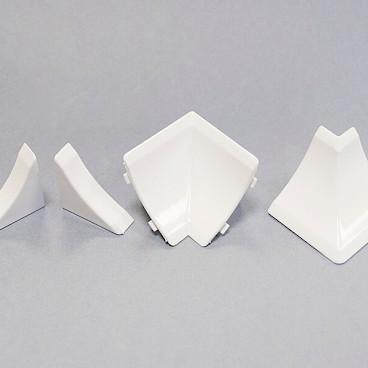 Декоративные заглушки в белом