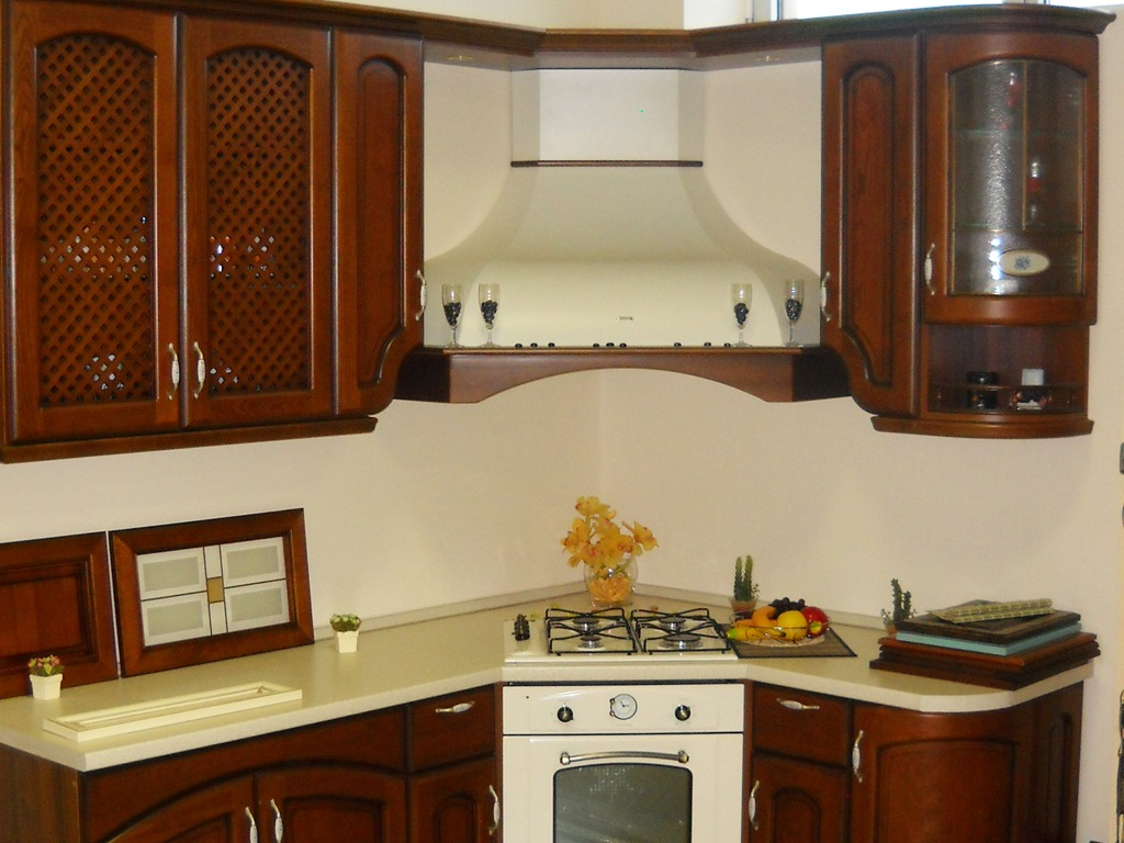 угловая вытяжка для кухни