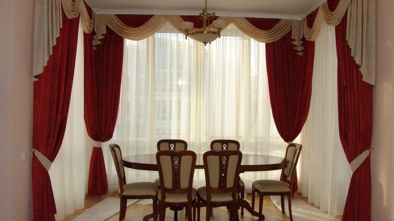 шторы для классической гостиной