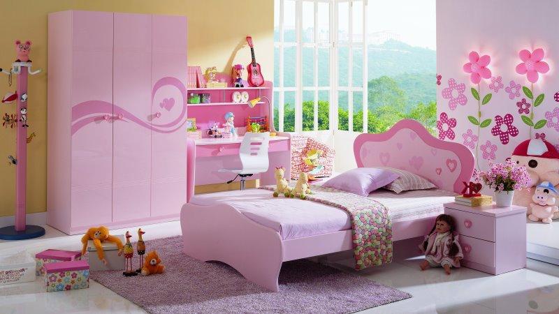 комната для девочки 6 лет