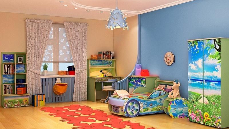 обои для детской спальни