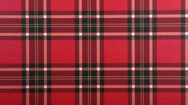 шотландский узор на обоях