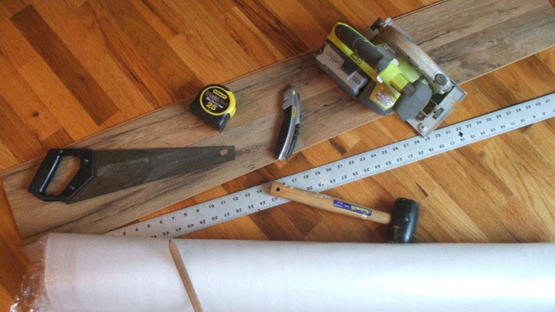 инструмент для укладки ламината