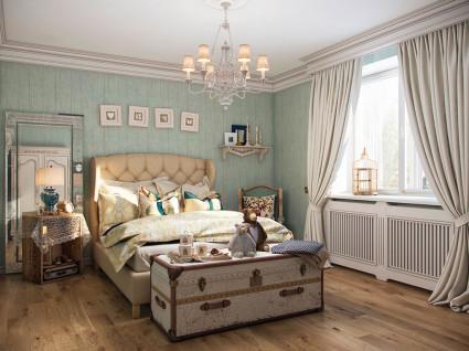 дизайн спальни в стиле прованс своими руками