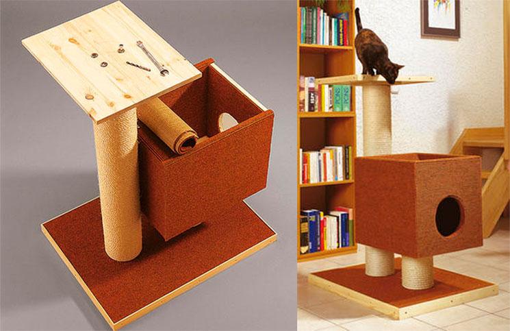 домик для кошки готов