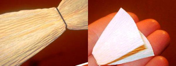 skreplyaem-bumagu-steplerom Гофрированная бумага, применение, виды, изготовление