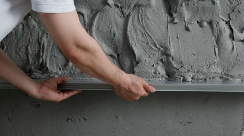 цементно песчаная штукатурка