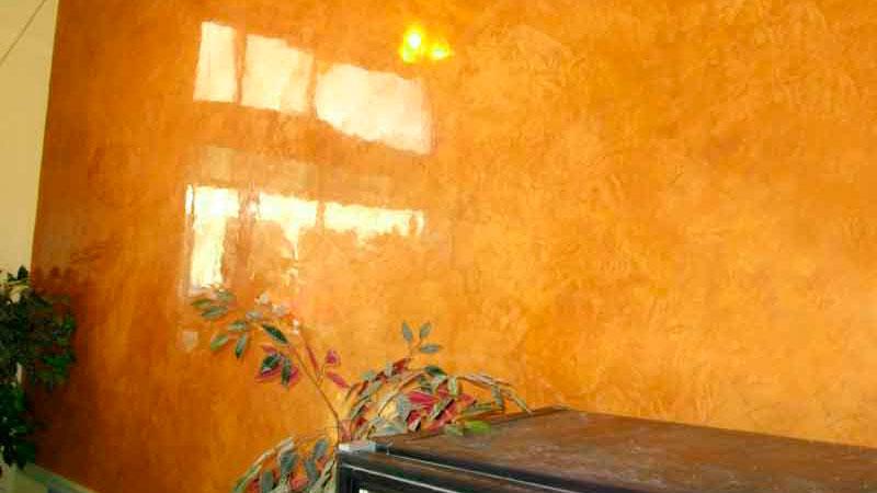 венецианская штукатурка глянец